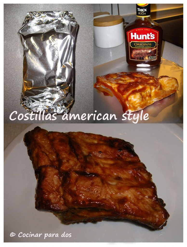 Costillas BBQ estilo americanas