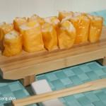 Falso sushi de mango con Soy Wraps