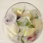 Ideas para el verano: Hielos con frutas, sabores y más