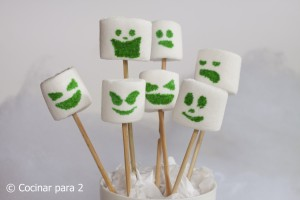 Idea para Halloween: Fantasmitas de nube