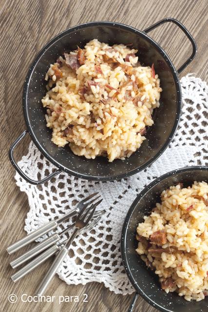 receta de arroz