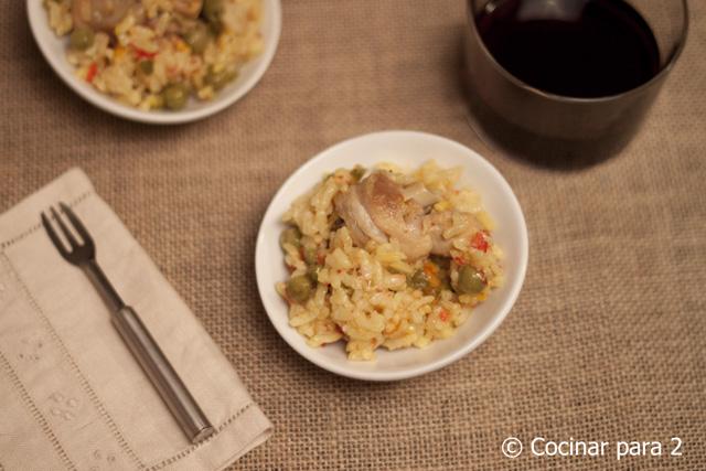 arroz olla rápida