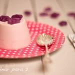 Panna Cotta de violetas