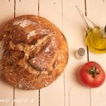 Pan de masa madre en cocotte
