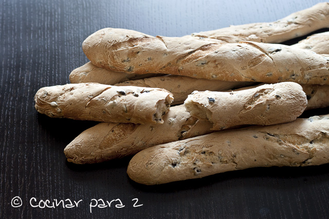 barritas de pan