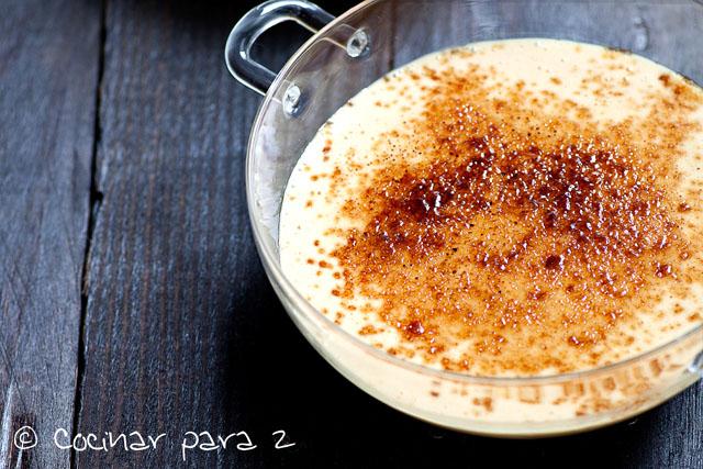 Crème brûlée de foie – Receta de Navidad