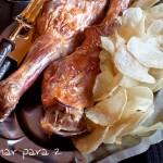 Receta de Navidad: Paletillas de cabrito asadas