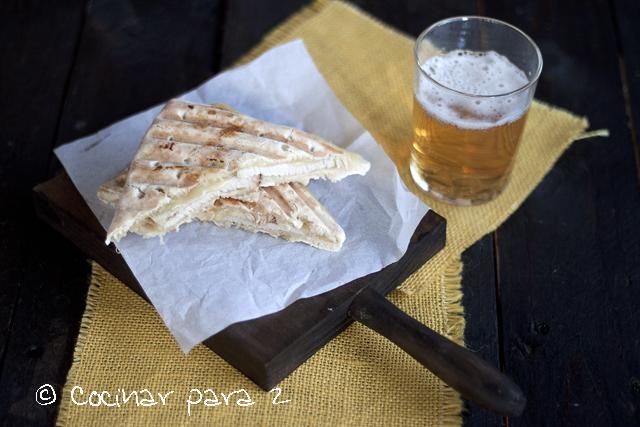 Sandwich de lomo y queso #RetoFlats con Bimbo
