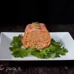 Pastel de salmón en el microondas