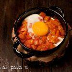 huevo tomate frito
