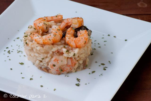 receta risotto