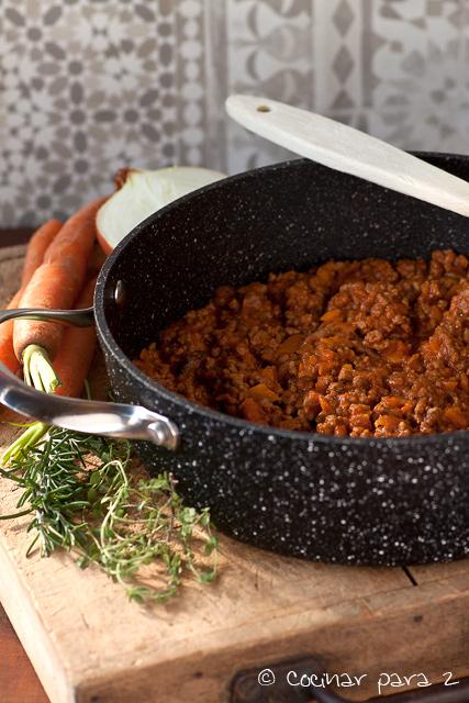 receta de boloñesa