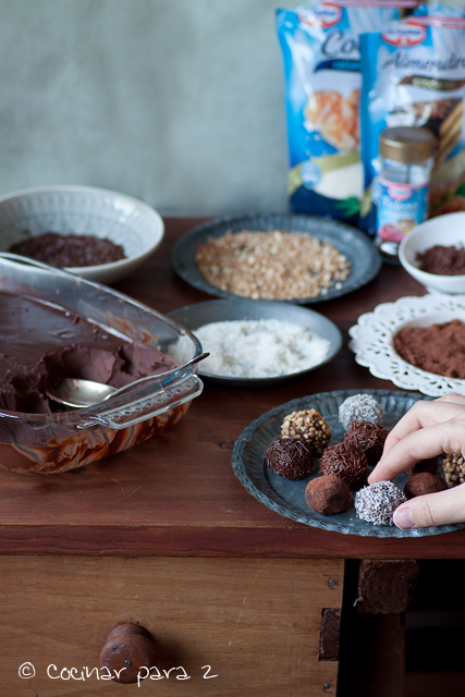 receta de trufas