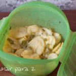 Patatas panadera en microondas (y horno)