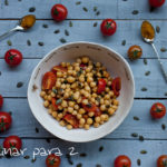 Ensalada de garbanzos y curry