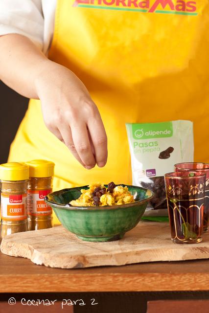 cuscus coliflor curry
