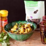 Cuscús de coliflor al curry