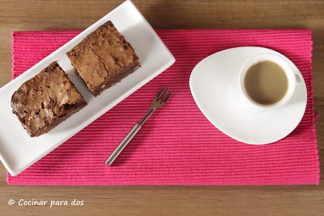 brownie pistacho