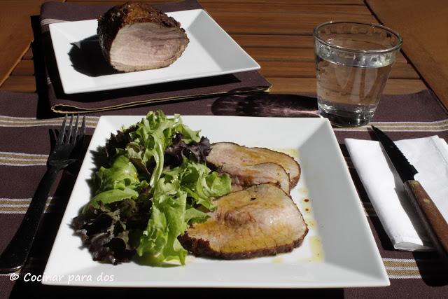 carne estilo roastfeef