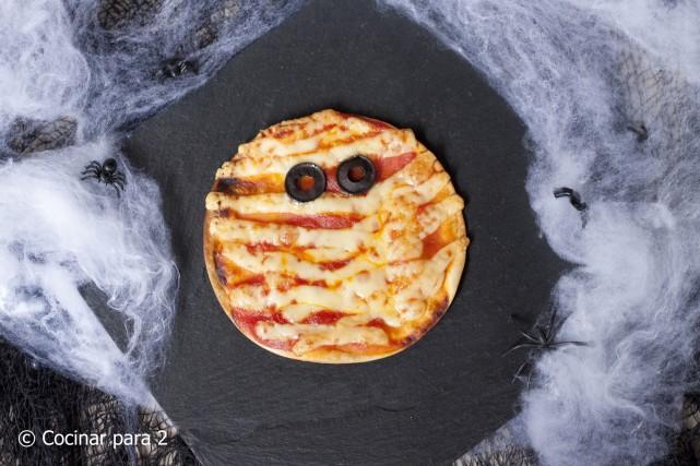 Pizzas momia - mummy pizzas