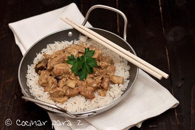 receta con curry