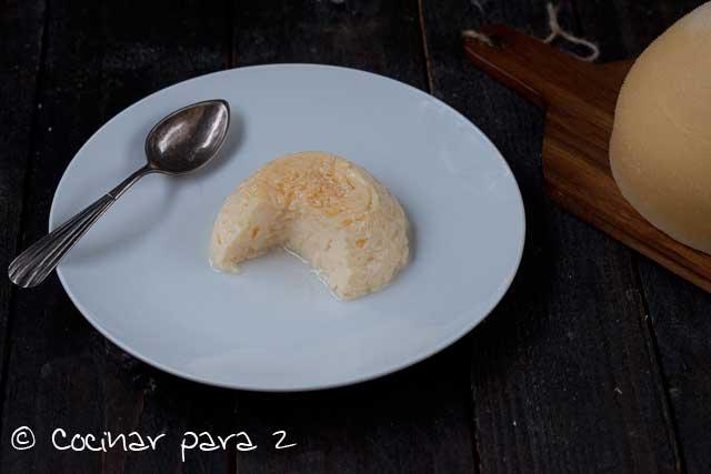 flan queixo tetilla