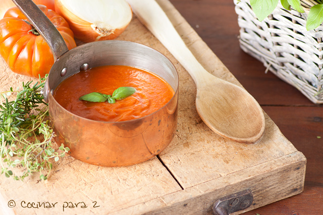 tomate frito olla rapida