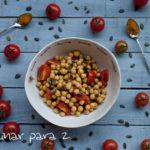 Ensalada de garbanzos y curry