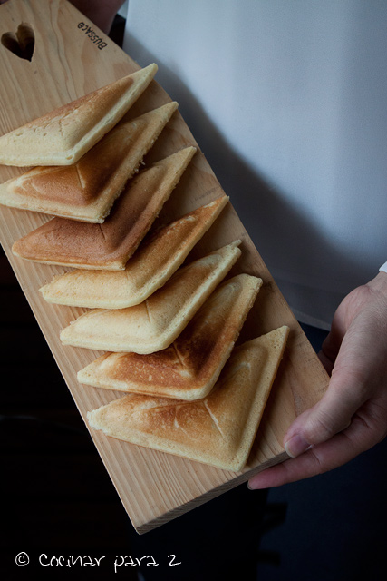 bizcocho sandwich